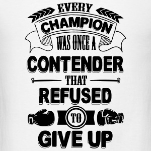 Boxing: Every champion refused to give up Tanks - Men's T-Shirt