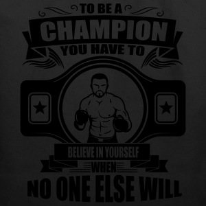 Boxing: champion - believe in yourself T-Shirts - Eco-Friendly Cotton Tote