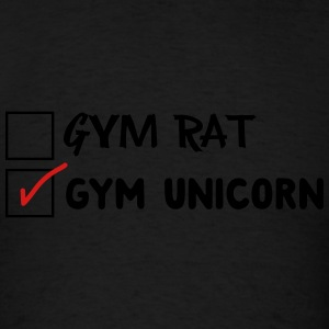 Gym Rat. Not Gym Unicorn Sportswear - Men's T-Shirt