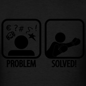 problem solved boxing Sportswear - Men's T-Shirt