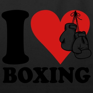 I love boxing T-Shirts - Eco-Friendly Cotton Tote