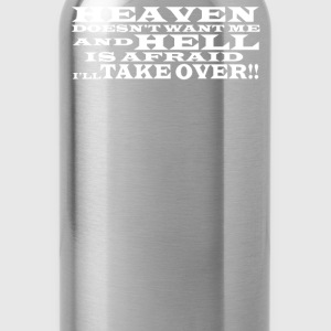 Hell and Heaven - Water Bottle