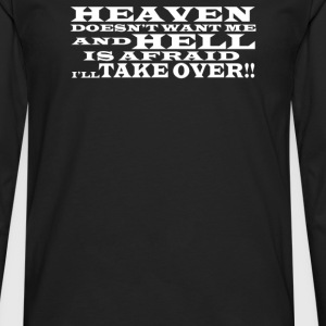 Hell and Heaven - Men's Premium Long Sleeve T-Shirt