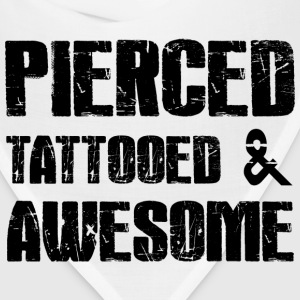 Pierced Tattooed Awesome Tanks - Bandana