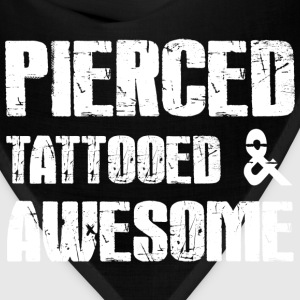Pierced Tattooed Awesome T-Shirts - Bandana