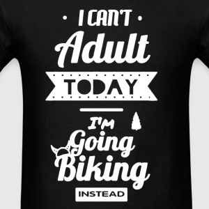 Biking Instead Shirt - Men's T-Shirt