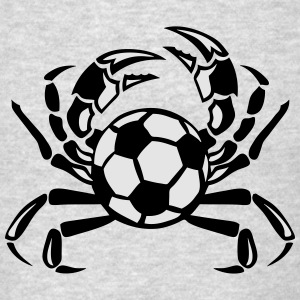 crab soccer club logo Long Sleeve Shirts - Men's T-Shirt