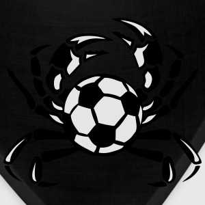 crab soccer club logo Hoodies - Bandana