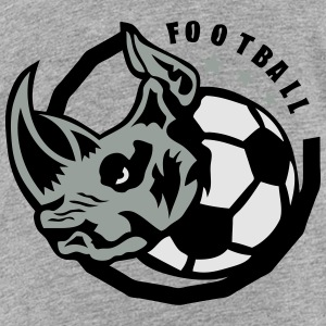rhinoceros soccer ball club logo Kids' Shirts - Toddler Premium T-Shirt