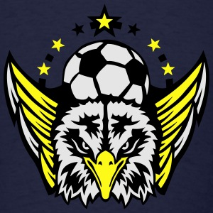 soccer club logo eagle Long Sleeve Shirts - Men's T-Shirt