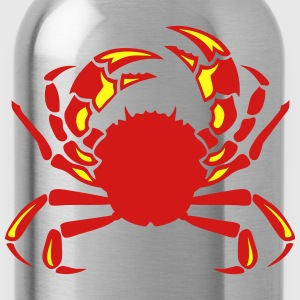 krabbe crab cancer 0 Long Sleeve Shirts - Water Bottle