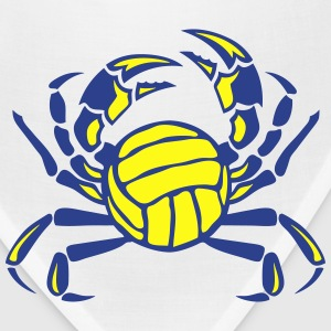 crab volleyball club logo Tanks - Bandana