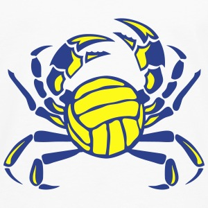 crab volleyball club logo Tanks - Men's Premium Long Sleeve T-Shirt
