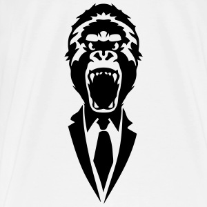 gorilla suit and tie tie 2502 Tanks - Men's Premium T-Shirt