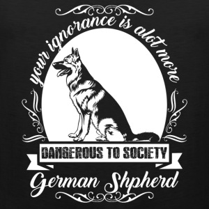 My German Shepherd Shirts - Men's Premium Tank