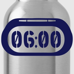 clock _2502 T-Shirts - Water Bottle