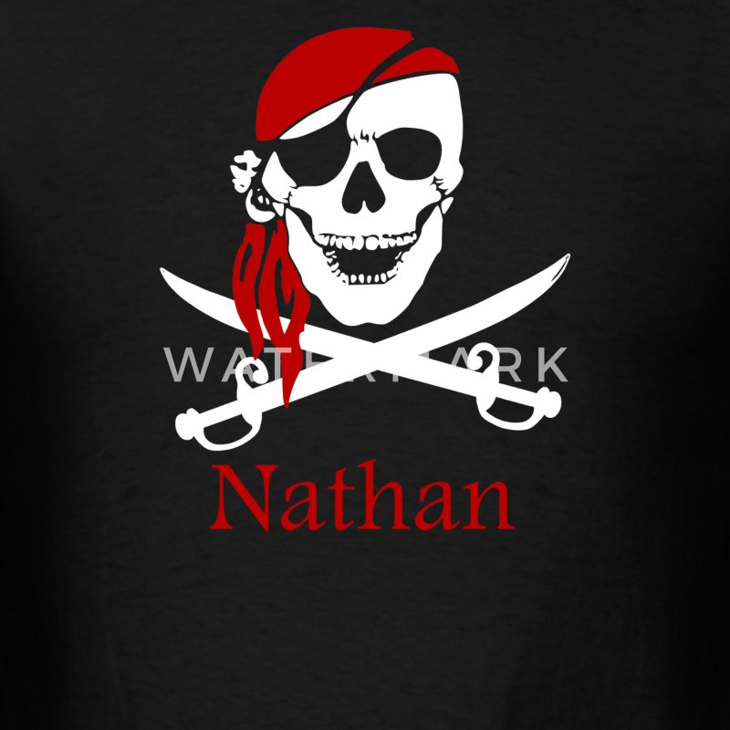 Personalized pirate - Men's T-Shirt