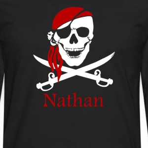 Personalized pirate - Men's Premium Long Sleeve T-Shirt