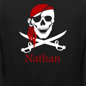 Personalized pirate - Men's Premium Tank