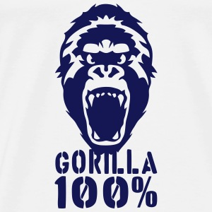 gorilla 100 2502 Tanks - Men's Premium T-Shirt