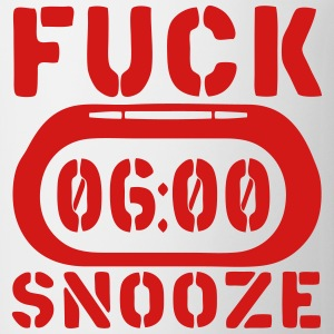 reveil clock fuck snooze Long Sleeve Shirts - Coffee/Tea Mug