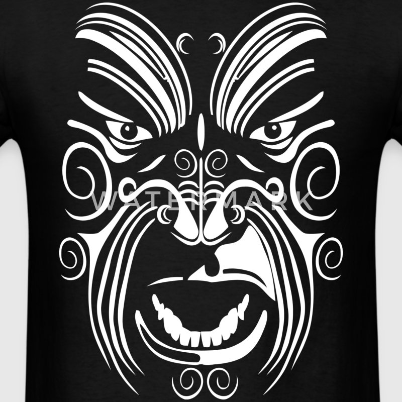 TATOUAGE MAORI BLANC  - Men's T-Shirt