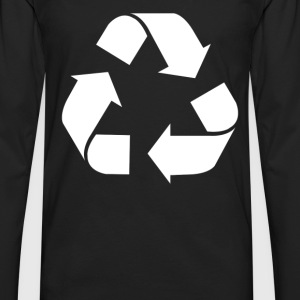 Recycle Screen Printed - Men's Premium Long Sleeve T-Shirt