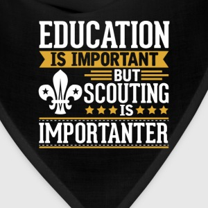 Scouting Is Importanter Funny T-Shirt T-Shirts - Bandana