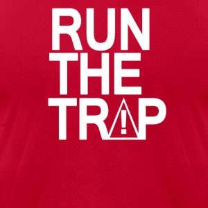 RUN THE TRAP - Men's T-Shirt by American Apparel