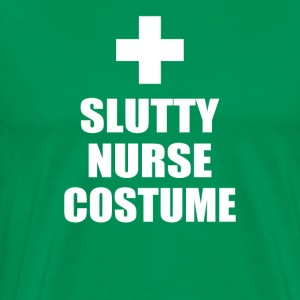 Slutty Nurse Costume - Men's Premium T-Shirt