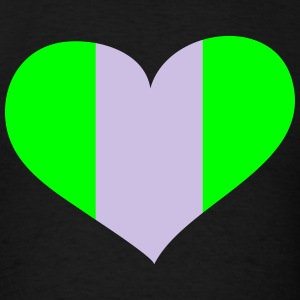 Nigeria Heart; Love Nigeria Hoodies - Men's T-Shirt