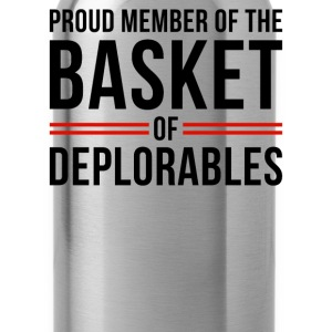 Proud member of the basket of deplorables - Water Bottle