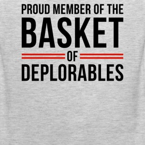 Proud member of the basket of deplorables - Men's Premium Tank