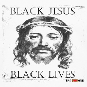 Black Jesus Black Lives - Men's Premium Long Sleeve T-Shirt