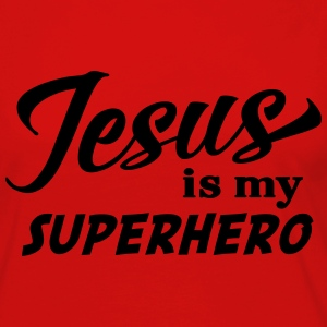 Jesus is my superhero T-Shirts - Women's Premium Long Sleeve T-Shirt