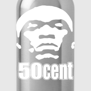 50 Cent Stencil - Water Bottle