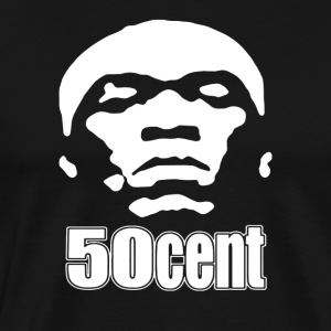 50 Cent Stencil - Men's Premium T-Shirt