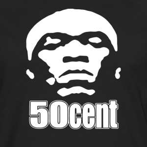 50 Cent Stencil - Men's Premium Long Sleeve T-Shirt