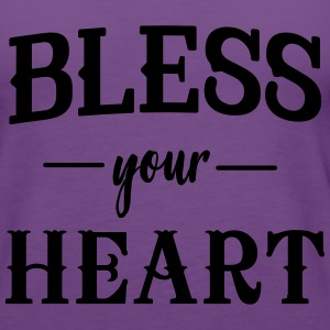 Bless your heart T-Shirts - Women's Premium Tank Top
