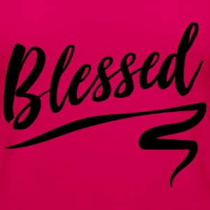 Blessed T-Shirts - Women's Premium Tank Top