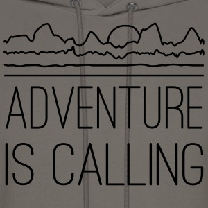 Adventure is calling T-Shirts - Men's Hoodie