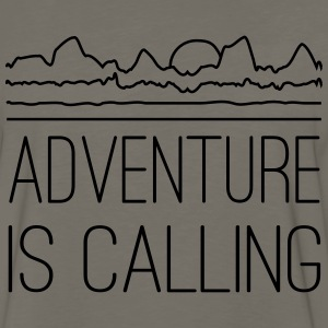 Adventure is calling T-Shirts - Men's Premium Long Sleeve T-Shirt