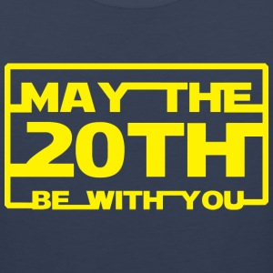 May the 20th be with you T-Shirts - Men's Premium Tank