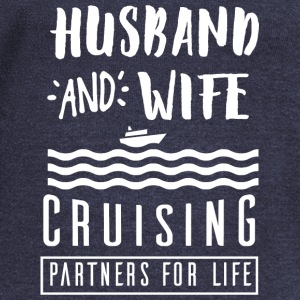 Husband and wife Hoodies - Women's Wideneck Sweatshirt