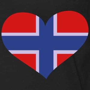 Norway Heart; Love Norway Polo Shirts - Men's Premium Long Sleeve T-Shirt