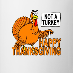 funny_thanksgiving_turkey__not_a_turkey_ - Coffee/Tea Mug