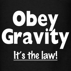 OBEY GRAVITY Hoodies - Men's T-Shirt
