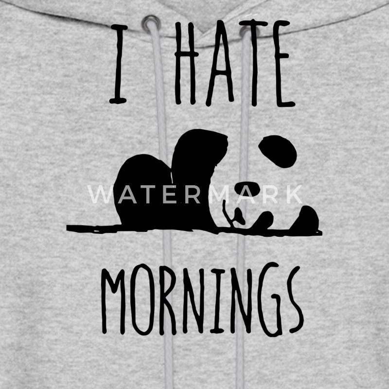 I HATE MORNING - Men's Hoodie