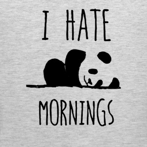 I HATE MORNING - Men's Premium Tank
