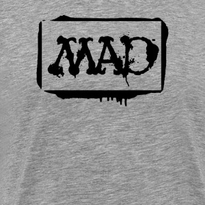 mad stencil - Men's Premium T-Shirt